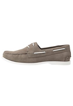 Pier One - Chaussures bateau - grey