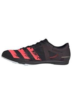 adidas Performance - DISTANCESTAR SPIKES - Scarpe da trail running - black