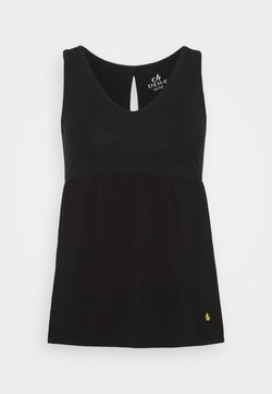 Deha - PEPLUM TANK - Top - black