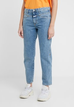 CLOSED - CROPPED X - RELAXED FIT CROPPED LENGTH - Jeans baggy - mid blue