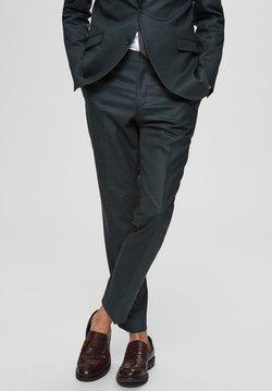 Selected Homme - SLIM FIT - Anzughose - dark green