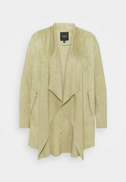 CAPSULE by Simply Be - WATERFALL JACKET WITH PANEL SLEEVES - Manteau court - olive