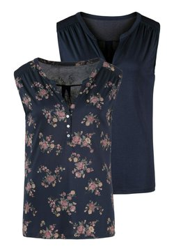 LASCANA - 2 PACK - Top - navy