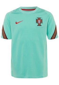 Nike Performance - PORTUGAL UNISEX - Voetbalshirt - Land - mint/sport red