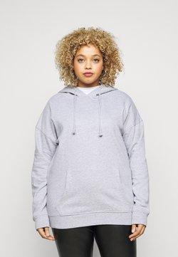 Missguided Plus - BASIC HOODIE - Sweatshirt - grey