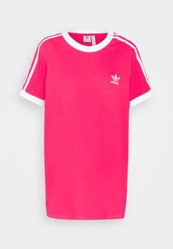 adidas Originals - TEE - T-shirts med print - power pink/white
