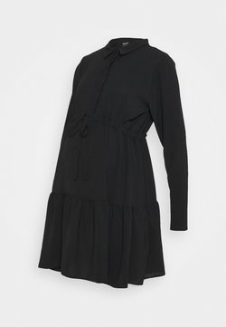 New Look Maternity - PLAIN DRESS - Paitamekko - black