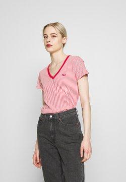 Levi's® - PERFECT V NECK - T-Shirt print - annalise tomato