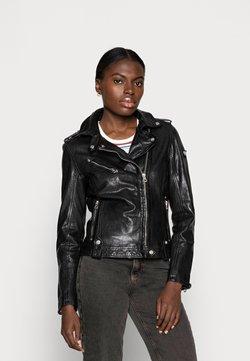 Gipsy - FAMOS - Veste en cuir - black