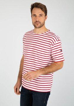 Armor lux - THEVIEC MARINIÈRE - T-Shirt print - blanc braise