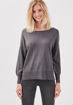 BONOBO Jeans - LANGARM - Pullover - gris foncé