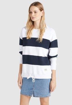 khujo - NECHANA - Sweatshirt - white/blue