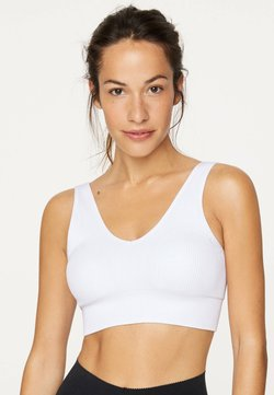 OYSHO - SEAMLESS - Sport BH - white