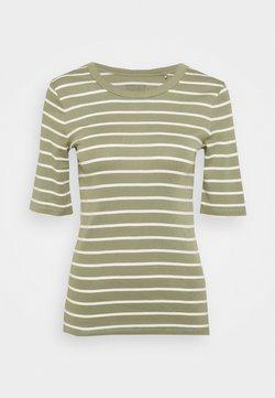 Esprit - FLOW CORE - T-Shirt print - light khaki