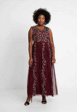 Lace & Beads Curvy - ATLANTIS MAXI - Ballkleid - burgundy