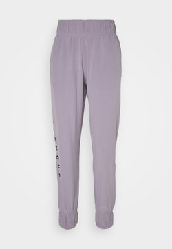 Under Armour - GRAPHIC PANTS - Pantalones deportivos - slate purple