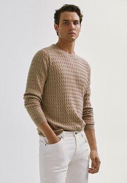 Massimo Dutti - Sweatshirt - nude