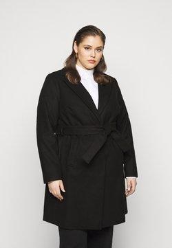 New Look Curves - JORDAN BELTED COAT - Wollmantel/klassischer Mantel - black