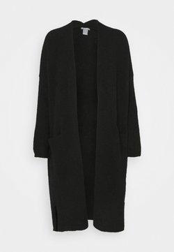 Lindex - CARDIGAN BEATA - Vest - black