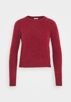 American Vintage - NUASKY - Maglione - cranberry multichiné
