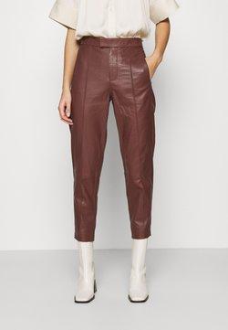 DAY Birger et Mikkelsen - GROW - Pantalon en cuir - cocco