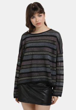 myMo at night - Strickpullover - schwarz