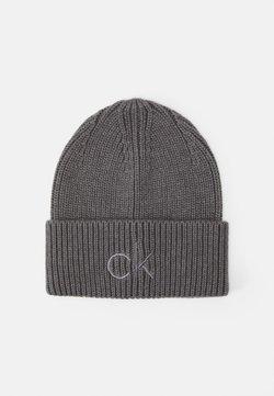 Calvin Klein - BEANIE - Bonnet - grey