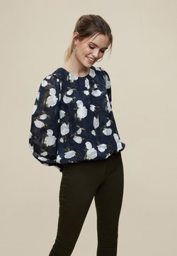 Dorothy Perkins - BILLIE AND BLOSSOM - Langarmshirt - blue