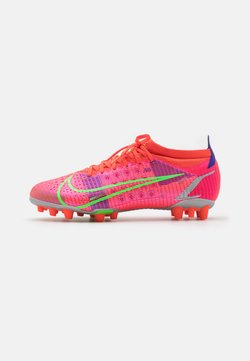 Nike Performance - MERCURIAL VAPOR 14 PRO AG - Chaussures de foot à crampons - bright crimson/metallic silver