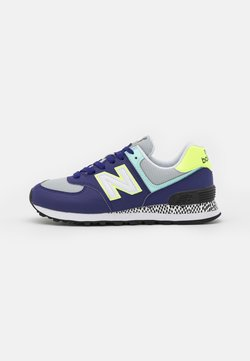 New Balance - WL574 - Matalavartiset tennarit - virtual violet