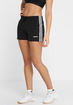 adidas Performance - ESSENTIALS 3STRIPES SPORT 1/4 SHORTS - kurze Sporthose - black/white