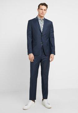 Calvin Klein Tailored - BISTRETCH SMALL GRID - Anzug - blue