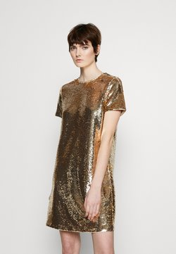 Emporio Armani - DRESS - Vestito elegante - gold