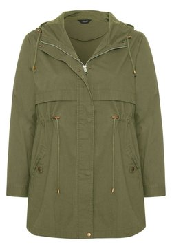 Yours Clothing - Parka - green
