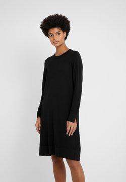 Repeat - DRESS - Vestido de punto - black