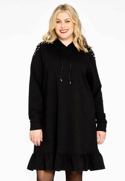 Yoek - Korte jurk - black