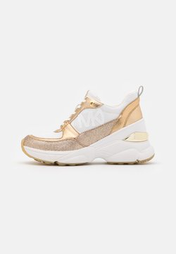 MICHAEL Michael Kors - MICKEY TRAINER - Trainers - optic white/gold