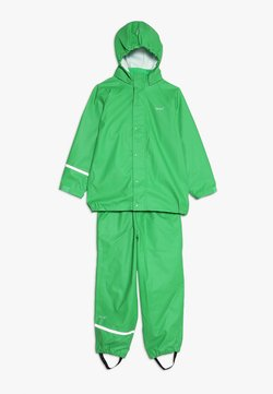 CeLaVi - BASIC RAINWEAR SUIT SOLID - Regnbyxor - green