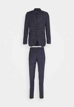 Matinique - CHECK SUIT - Garnitur - dust blue