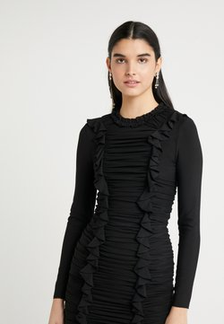 Needle & Thread - RUFFLE MINI DRESS - Sukienka koktajlowa - ballet black