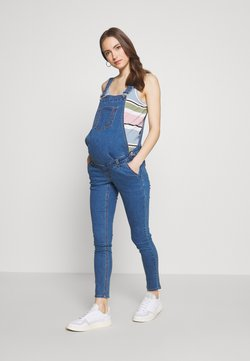 Missguided Maternity - DUNAGREE - Dungarees - blue