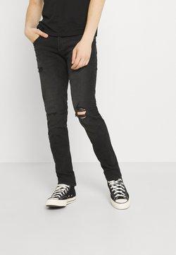 Jack & Jones - JJIGLENN JJORIGINAL - Jeans Slim Fit - black denim