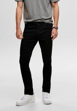 Only & Sons - ONSLOOM BLACK - Slim fit jeans - black denim