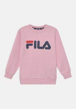 Fila - TIM LOGO CREW UNISEX - Felpa - pink mist