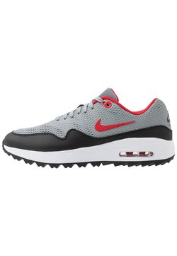 Nike Golf - AIR MAX 1 G - Chaussures de golf - particle grey/university red/black/white