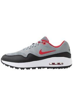 Nike Golf - AIR MAX 1 G - Golfschoenen - particle grey/university red/black/white
