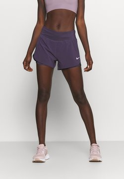 Nike Performance - ECLIPSE 2 IN 1 SHORT - kurze Sporthose - dark raisin