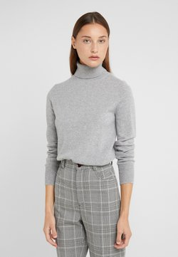 J.CREW - LAYLA TURTLENECK - Neule - heather grey