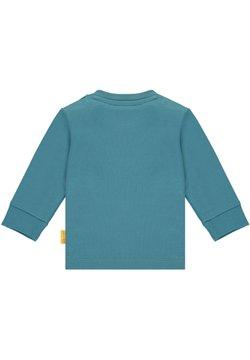 Steiff Collection - MIT TEDDYBÄR APPLIKATION - Longsleeve - adriatic blue