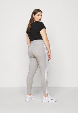 adidas Originals - STRIPES TIGHT - Leggings - grey/white